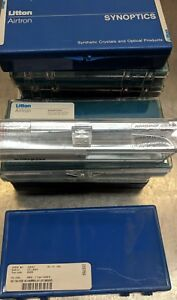 New Sealed Litton Airtron Nd yag Laser Rod 4x108mm Plano Ar ar 0 62 Dpss 1064nm