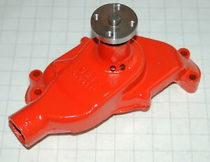 1955 3704911 Water Pump Corvette Chevy 265 Engine Correct 4 Hole Hub Restored