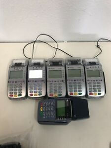 Lot Of 3 Verifone Vx520 5 And One Omni5100