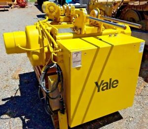 5 Ton Yale Cable King Wire Rope Hoist Electric Motorized Trolley Cew5x24rt16d2