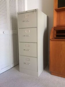 Filing Cabinet Legal Size Metal Heavy Duty Office Depot Used