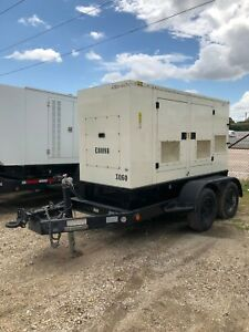2011 Caterpillar Xq60 Portable Diesel Generator Load Bank Tested
