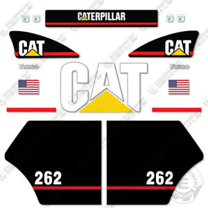 Caterpillar 262 Decal Kit Equipment Decals Older Style