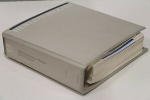 Hp 59940a Ms Chemstation Hp ux Contributed Utilities Installing Manual Handbook