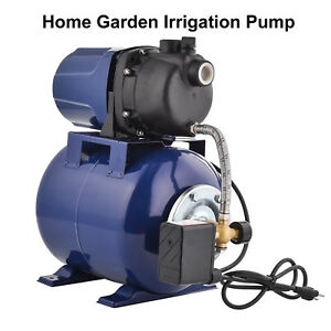 Kuppet 1200w Garden Water Pump Shallow Well Pressurized Home Irrigation 1000gph