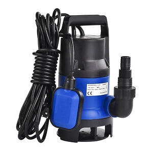 Mecor 1 2 Hp 400w Submersible Water Pump Swimming Pool Dirty Flood Clean Pond