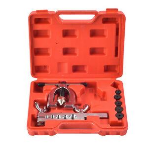 Kuppet Auto Double Flaring Brake Line Tool Kit Car Truck With Mini Pipe Cutter