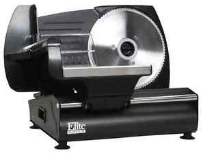 Electric Meat Slicer Food Deli Cutter Ham Vegetable Cheese Bread Home Kitchen