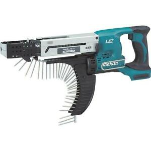 Cordless Auto Feed Screwdriver Screw Gun 18v Battery Powered tool Only
