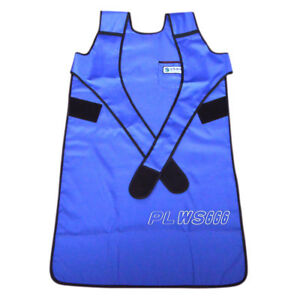 Sanyi Flexible X ray Protection Protective Lead Apron Faa07 0 35mmpb Blue In Us