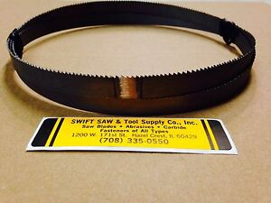 3pc 100 X 3 8 X 025 X 10 14t Cobalt Bimetal Band Saw Blade Disston Usa