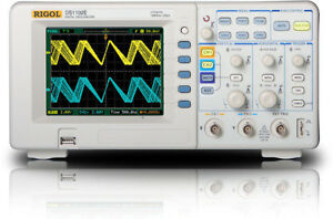 New Rigol Ds1102e Digital Oscilloscope 100mhz Us Authorized Dealer