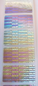 500 Svag f Security Seals 3 4 X 1 1 2 Product Protection Labels Sticker Seals