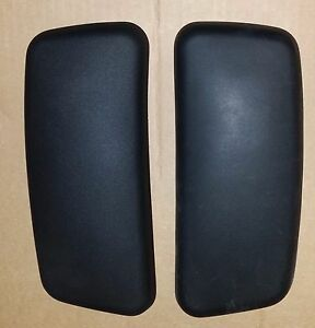 Authentic Oem Usa Made Haworth Zody Chair Arm Pad Cap Set Tr f Black Quick Ship