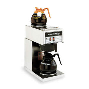 Bloomfield 64 Oz Stainless Steel Commercial Coffee Maker 3h285 Free Shipping