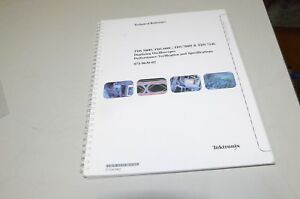Tektronix Tsd540 Tds600c Tds700d Tds714c Technical Reference Manual