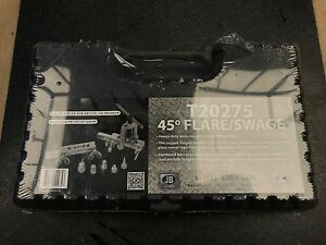 Jb Industries T20275 45 Degree Flare Flaring Swage Tool New Sealed