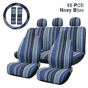 10pcs Baja Blanket Durable Bucket Seat Cover Protector For Car Auto