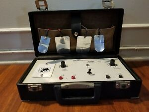 Vintage Portable Stimulator Electrotherapy 4ch Physical Painrelief Therapy Rare