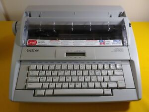 Brother Correctronic Gx 8250 Electronic Typewriter Works