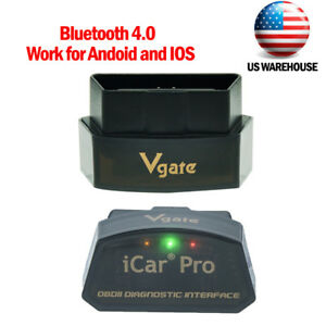 Vgate Icar Pro Bluetooth 4 0 Adapter Obd2 Diagnostic Scanner Tool Code Reader