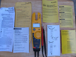 Fluke T5 600 Unused Demo Perfect All Instructions Clear Packaging Excellent