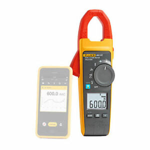 Fluke 902 Fc 600v Ac dc Trms Hvac Clamp Meter With Fluke Connect