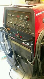 Lincoln Precision Tig 275 Ac dc Tig Stick Welder Stinger Clamp Torch