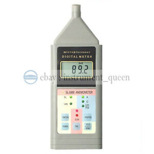 Landtek Sl5868 Lcd Sound Noise Level Meter Decibel Monitor Tester 40 125db