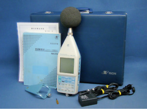 Rion Na 27a Sound Level Meter 1 3 Octave Band Analyzer