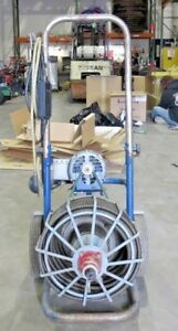 Electric Eel 75 X 1 2 Sewer Rooter Sewer Auger Sewer Eel Drain Auger