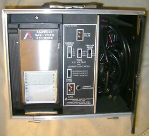 Amprobe Model Av21rms Trms A c Voltage And Current Recorder 3 Rolls 300sva 6