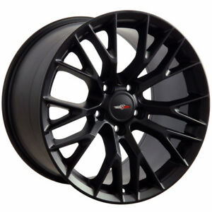 Matte Black Wheel 18x10 5 For 1993 2002 Chevy Camaro Owh2731