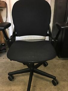 Black Executive Chair By Steelcase fully Loaded