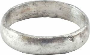 Ancient Viking Pinky Wedding Ring C 850 1050 Ad Size 8 18 6mm