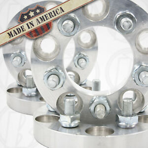 4pc 5x5 5 To 5x4 5 Wheel Adapters 1 Spacers 12x1 5 Studs Made In The Usa