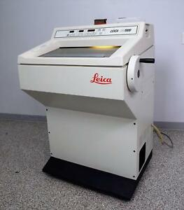 Leica Cm1900 Cryostat Microtome Refrigerated Pathology Histology Laboratory