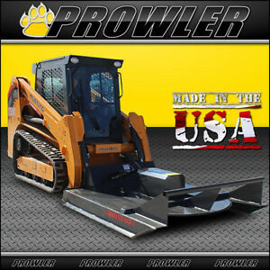 72 Inch Standard Duty Brush Mower 11 20 Gpm Flow Skid Steer Cutter Attachment
