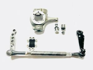 Dana 44 Chevy 10 Bolt jeep Complete 1 ton Crossover High Steer Kit w Knuckle Dom
