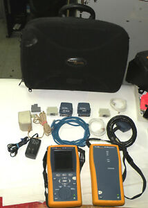 Fluke Networks Dtx 1800 Cable Tester Cable Analyzer And Smart Remote Lot17681