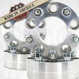 5x5 5 To 5x4 5 Wheel Adapters 2 Spacers 12x1 5 Studs Usa Made X4