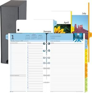 Serenity 2 page per day Planner Refill Desk Size