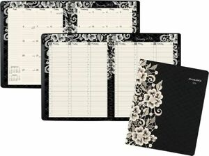 At a glance Lacey Premium Weekly monthly Appointment Book Lacey