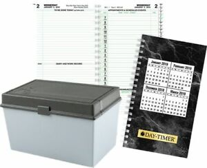 2 page per day Indexed Planner Refill Compact Size