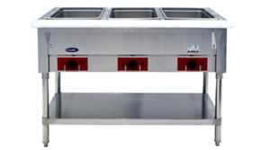 Atosa Cstea 3 Commercial Electric Steam Table