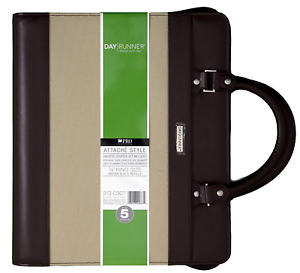 At a glance Day Runner 313 0307 Attache Organizer holds Size 5 Refills 8 5 x11