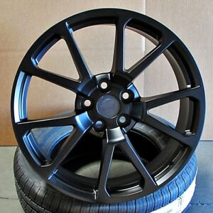 20 Wheels Rim For Cadillac Cts Cts V Style Black 20x8 5 10 5x120 Set Of 4