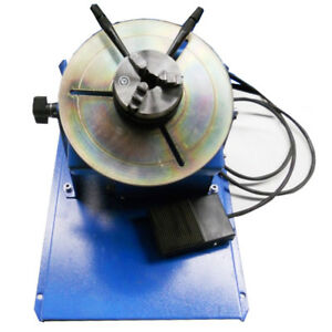 Rotary Welding Positioner Turntable Table Jaw Lathe Chuck