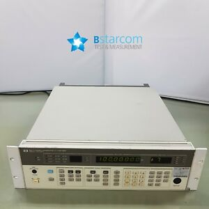 Hp 8657a Synthesized Signal Generator 100 Khz To 1040 Mhz
