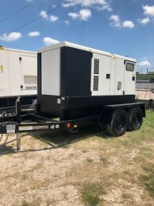 2012 Atlas Copco Qas70 Jd Portable Diesel Generator Load Tested